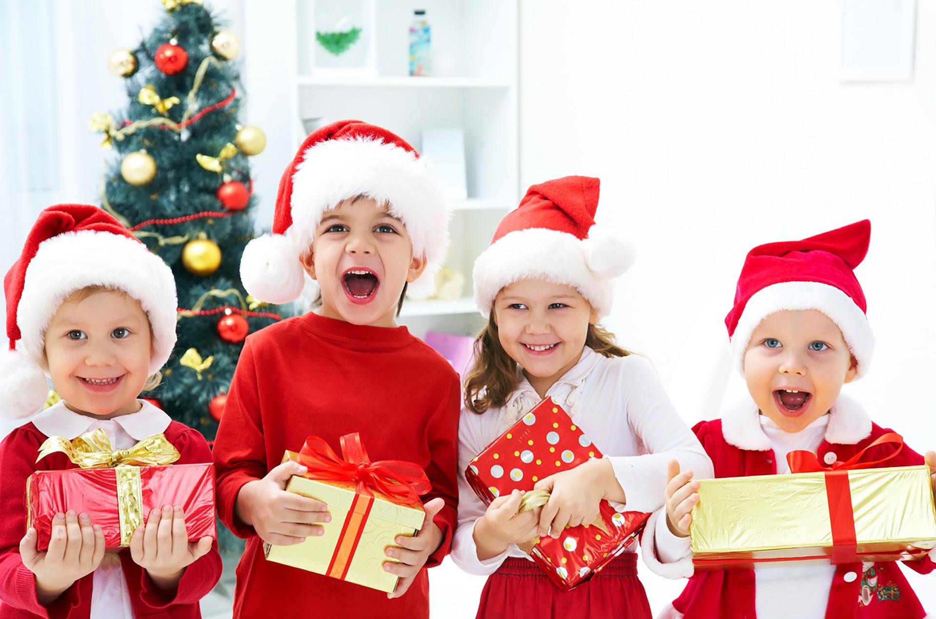Детский новогодний праздник картинки